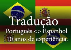 Tradução E Versão Espanhol Português R$ 0,07 P/palavra