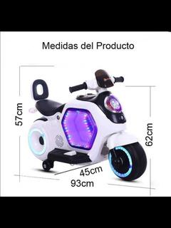 Moto A Batería Pará Niños De 2 A 7 Años