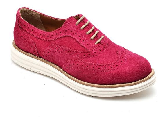 Sapato Feminino, Oxford, Camurça, Bestshoes, Promoção!