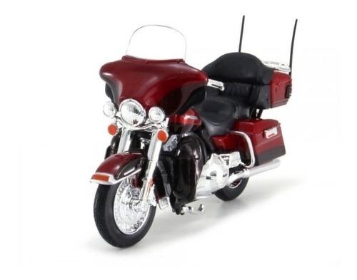 Miniatura Moto Harley-davidson 2013 Flhtk Electra Glide 1:12