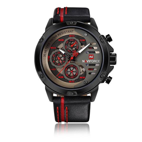 Reloj Naviforce Moda Casual Red