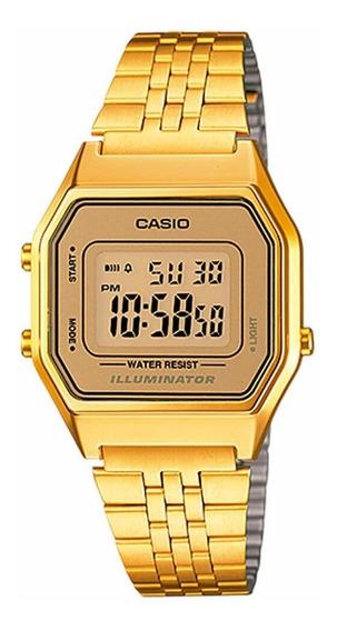 Relógio Casio Feminino La680wga-9df - Original Nota Fiscal