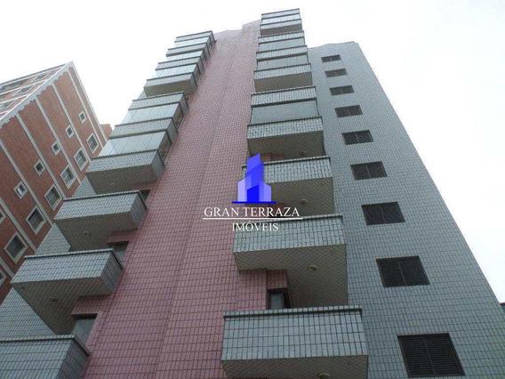 Apartamento Com 2 Dorms, Aviação, Praia Grande - V555
