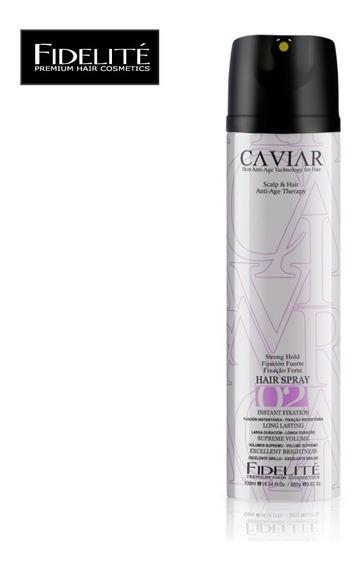 Spray Fijacion Fuerte Caviar X 430ml - Fidelite