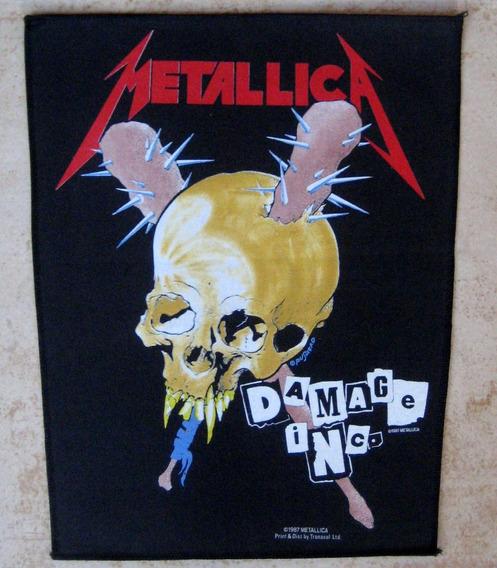 Back Patch Para Costas - Metallica - Damage Inc 1987 Oficial