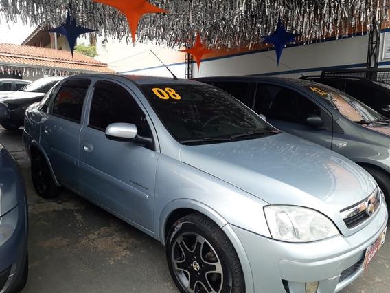 Gm Corsa Sedan 1.4 8v Premium Completo 2008