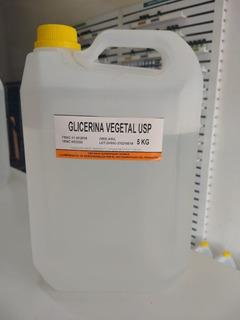 Glicerina Pura Usp Por 5 K Con Bidon Reforzado P/envios