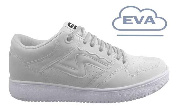 Zapatillas Urbanas/skater Spiral Shoes Pow Flow 2020 Blanco