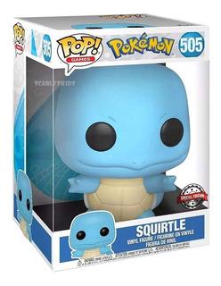 Funko Pop Squirtle Pokemon Special Edicion 26cm Orig Scarlet