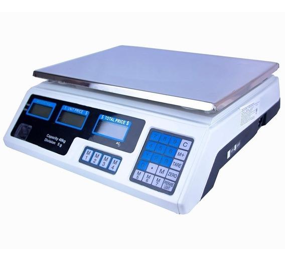Bascula Comercial Digital 40kg Peso Comercio Tienda