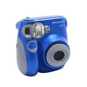 Câmera Com Impressão Instantânea Polaroid - Pic300 Azul