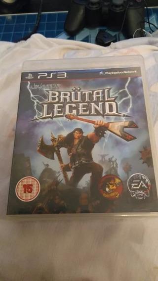 Brutal Legend Playstation 3 Ps3 Mídia Física Original