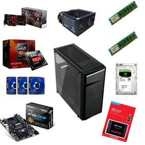 Computador Pc Gamer Barrato Ssd 128gb, 8gb Ram E 2,5 Tb Hd.