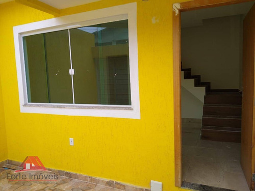 Casa Duplex C/ 2 Dormitórios No Conjunto Votorantin - Cg/rj - Ca0174