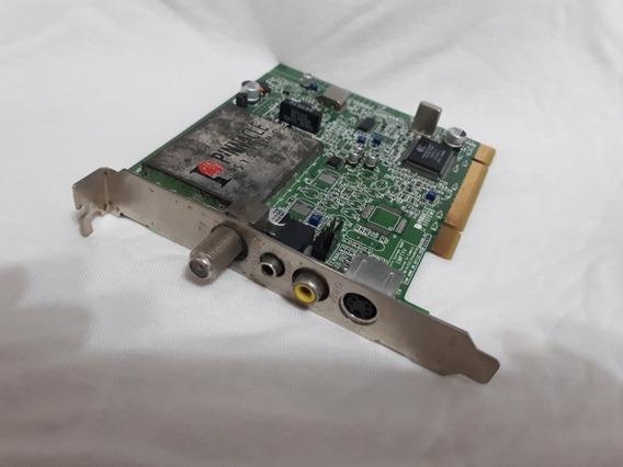 Placa De Tv Pinnnacle System Fotos São Real Do Produto Real