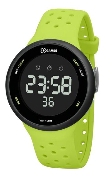 Relógio X Games Masculino Xmppd546 Pxfx Verde - Refinado