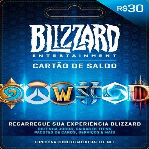Gift Card Blizzard R$ 30 Reais - Envio Digital