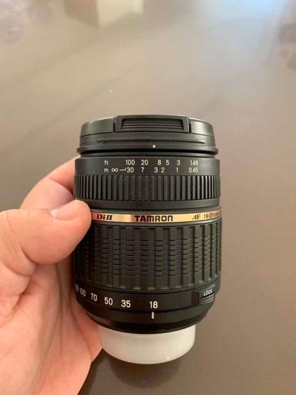 Lente Tamron 18-200 F/3.5-6.3 Xr Diii Para Nikon