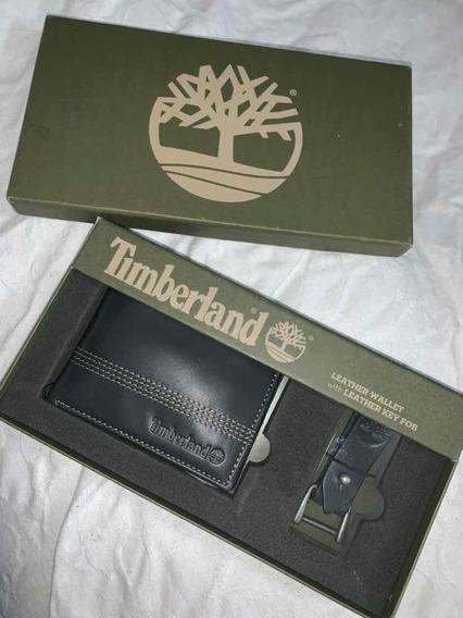 Billetera Timberland + Porta Llaves - Producto Original