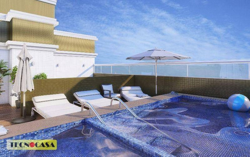 Apartamento Com 2 Dormitórios À Venda, 64 M² Por R$ 260.000,00 - Vila Guilhermina - Praia Grande/sp - Ap4921