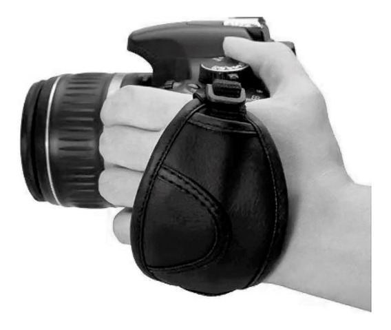 Alça De Mão Macia P/ Canon 200d 300d 4000d T7i T6i T6i T4i