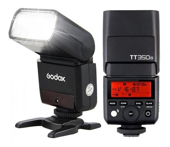 Flash Godox P/ Nikon Tt350 N
