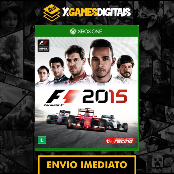 Formula 1 2015 F1 2015 Xbox One Midia Digital + 1 Brinde