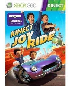 Jogo Kinect Joy Ride Xbox 360 Midia Física Em Português