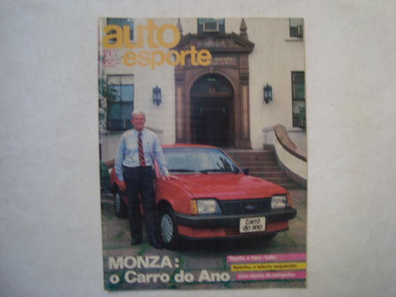 Revista Auto Esporte N. 266 - Monza: O Carro Do Ano