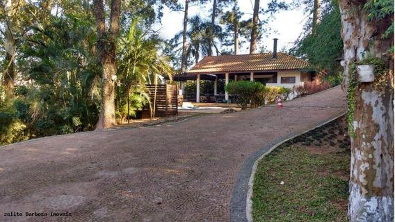 Chácara Para Venda Em Carapicuíba, Chácara Das Paineiras., 4 Dormitórios, 2 Suítes, 4 Banheiros, 20 Vagas - 0002