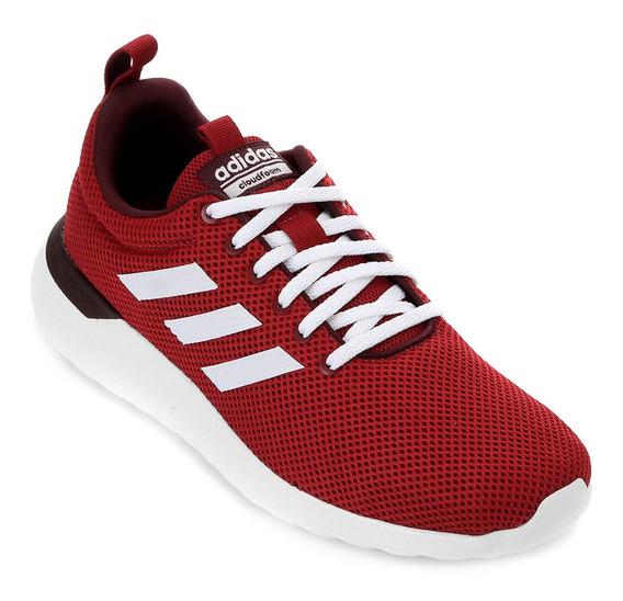 Tênis adidas Lite Racer Cln Masculino Vermelho, Preto E Azu