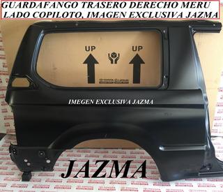 Guardafango Trasero Derecho Meru 2002 2008 Original Toyota