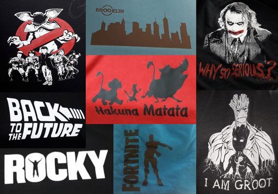 Camisetas Personalizada #várias Estampas**