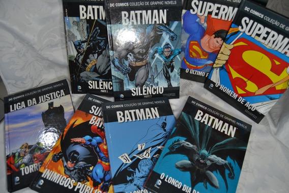 Hq´s Da Dc Eaglemoss - Batman, Superman E Liga Da Justiça