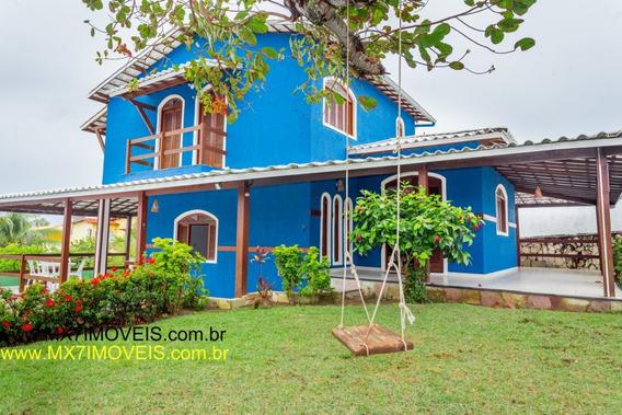 Casa Em Condomínio Com 4 Quartos Para Comprar No Barra Do Jacuípe Em Camaçari/ba - 583
