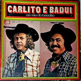 Lp Carlito E Badui - Os Reis Do Batidao - Caboclo 1977 - 12