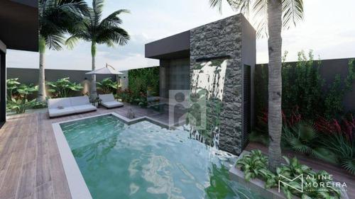 Imagem 1 de 18 de Casa Com 4 Dormitórios À Venda, 260 M² Por R$ 1.800.000,00 - Alphaville I - Ribeirão Preto/sp - Ca0753