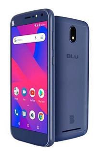 Smartphone Blu C6l 16gb Flash Frontal Android 8.1 Oreo +capa
