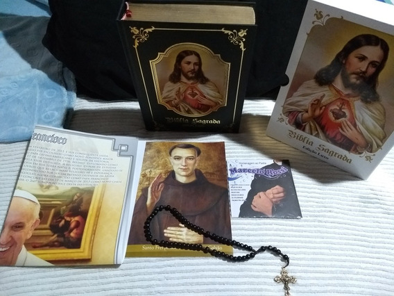 Bíblia Sagrada Edição Luxo A Mais Barata Do Mercado Livre