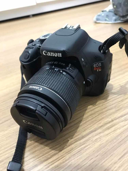 Câmera Canon T3i Com Lentes 18-55 E 50mm 1.8