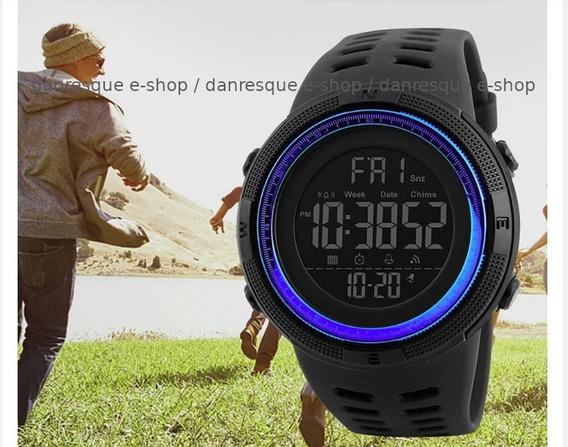 Relógio Skmei 1251 Prova Dágua Digital Led Black Friday