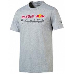 Camiseta Puma Red Bull Racing F1 Team Cinza Claro