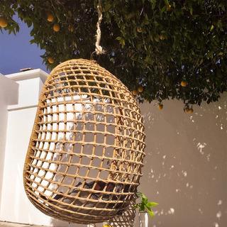 Silla Colgante De Bamboo Silla Comlumpio