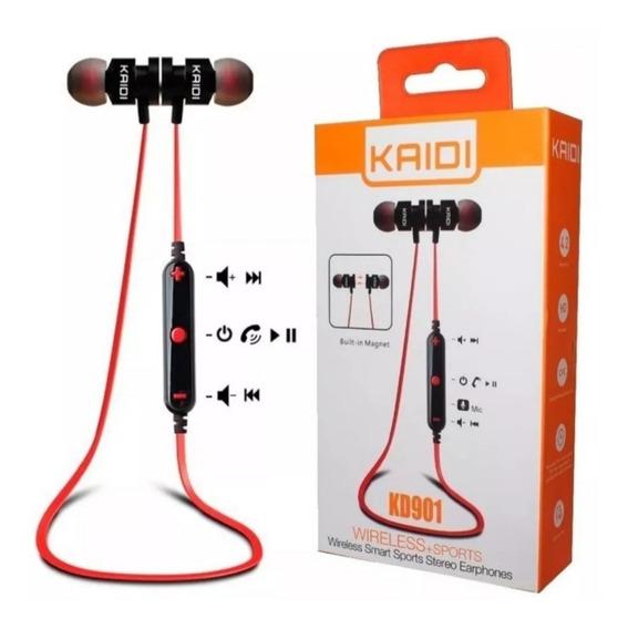 Fone In-ear Ouvido Kaidi Kd901 Bluetooth Inclui Microfone