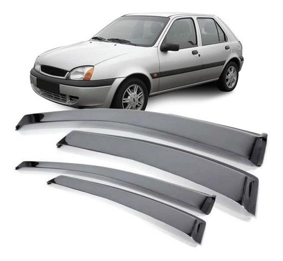 Calha Chuva Ford Fiesta 1996 A 2001 2002 4 Portas Fumê