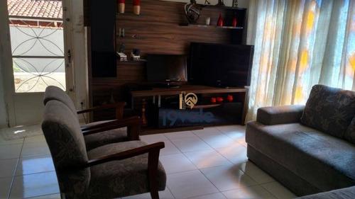 Casa Com 3 Dormitórios À Venda, 237 M² Por R$ 470.000,00 - Jardim Bela Vista - Jacareí/sp - Ca1137