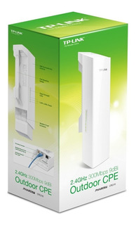 Router Externo Tp Link Cpe 210 Ant 9 Dbi Poe 15 Km 2.4 2.483