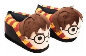 Pantufa 3d Rosto Harry Potter - Ricsen