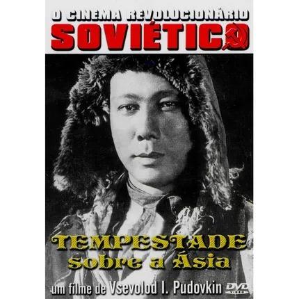 Dvd Cinema Soviético Tempestade Sobre A Ásia