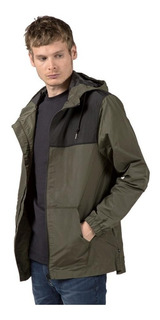 Campera Rusty Hombre Supremecy Hooded Jacket Verde